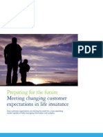 Preparing for the future:Meeting changing customer  expectations in life insurance