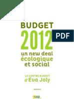 Newdealevajoly Budget 2012