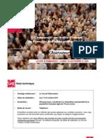 Observatoire de l'opinion - Les traits d'image de François Hollande et Martine Aubry - Octobre 2011