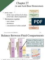 Fluid, Electrolyte and Acid-Base Homeostasis (Renal)