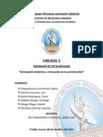SEMINARIO DE OFTALMOLOGIA - RETINOPATÍA DIABÉTICA Y DE LA PREMATURIDAD