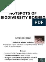 Hotspots of Biodiversity Borneo