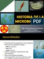 Historia de La Microbiologia German
