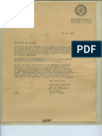 1945, 1946 -- Corporate Letters of Recommendation for Jacque, News Clip