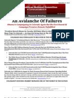 An Avalanche Of Failures
