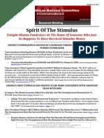 Spirit Of The Stimulus