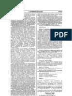 4. Decreto Supremo 033-2011-MTC (Modifica DS 017-2009)