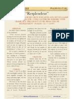 """Psalm 132 vv17-18, """"Resplendent"""""""