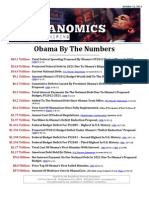 Obama By The Numbers - October 2011