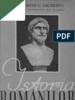 Istoria românilor din cele mai vechi timpuri până la moartea regelui Carol I