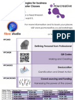 PCM Social Technologies for Business - Nov 2011 masterclasses