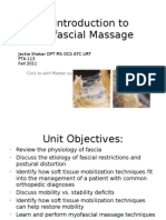 An Introduction to Myofascial Massage 2011