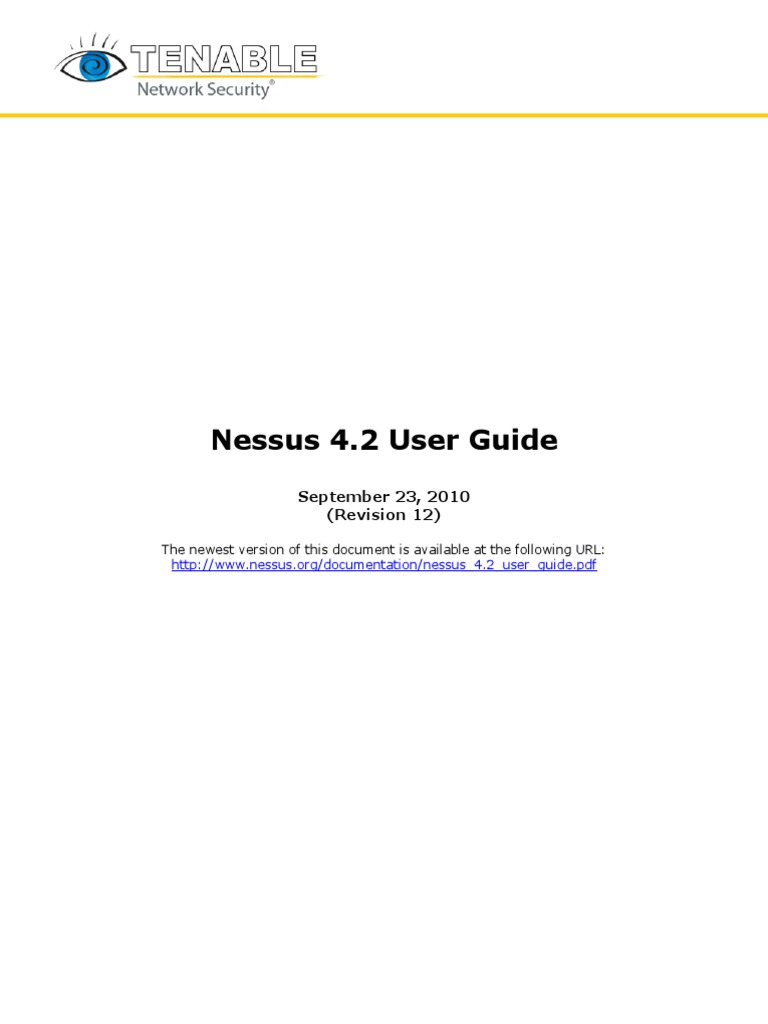 Nessus 4 2 User Guide | Transmission Control Protocol | Port