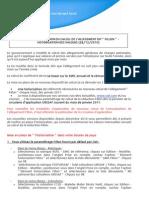 Annualisation Fillon - Historisation