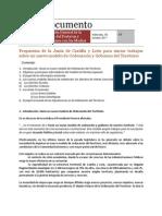 Distritos de Interés Comunitario. Propuesta de Municipios para Castilla y León