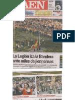 Homenaje a La Legión en Jaén 2011 - Recortes de prensa
