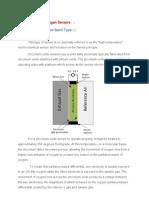 Zirconium Oxide Oxygen Sensors