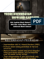 Teori Kecerdasan Howard Gardner