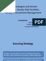 Sourcing Strategies and Vendor Evaluation, Vendor Risk