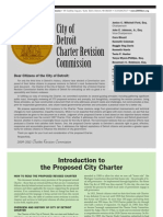 City of Detroit Charter Final Revision 10-7-11