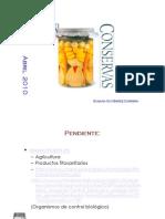 Curso de conservación de alimentos. Santander 2011.