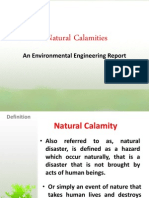 Natural Calamities (Group 8)