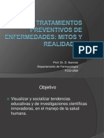 Tratamientos Preventivos Mitos y Real Ida Des