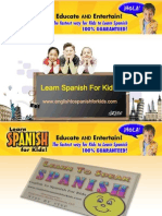English to Spanish for Kids