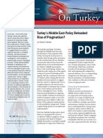 Turkey's Middle East Policy Reloaded