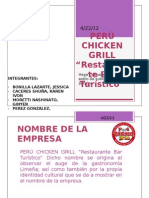 PERÙ CHICKEN GRILL