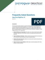 FAQ RightFax 10