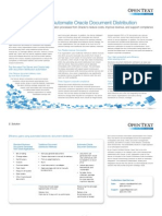 FXDD - Oracle Document Automation