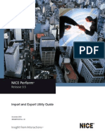 Import and Export Utility Guide - NP - 3.5