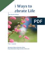 114 Ways to Celebrate Life eBook