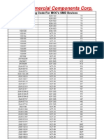 MCC SMD Marking Codes