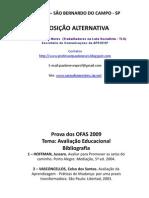 Hoffman, Jussara, Avaliar Para Promover- Por Paulo Neves