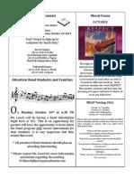 Newsletter 10-7-11