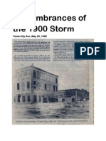 Remembrances of the 1900 Storm