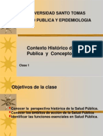 Clase 1 Contexto de La Salud Publica