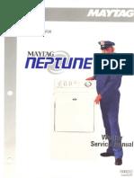 Maytag Neptune (Mah3000) Washer Service Manual