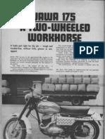 Jawa 175 Ag (Two Wheels January1970)