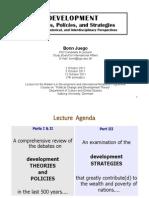 "Bonn Juego - Lecture on ""Development"