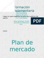 diapositivas de mercadeo