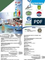 Programación Oficial XXIII FIESTAS DEL AGUACERO CALDAS 2011