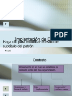 Implantación de ERP