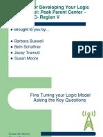 Fine Tuning Your Logic Model _1
