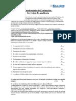 Cuestionario de Evaluación para Auditorías
