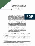 Gadamer y La Phronesis Aristotelica