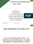 Employee State Insurance Act 1948