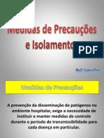 Medidas de Precauções e Isolamentos